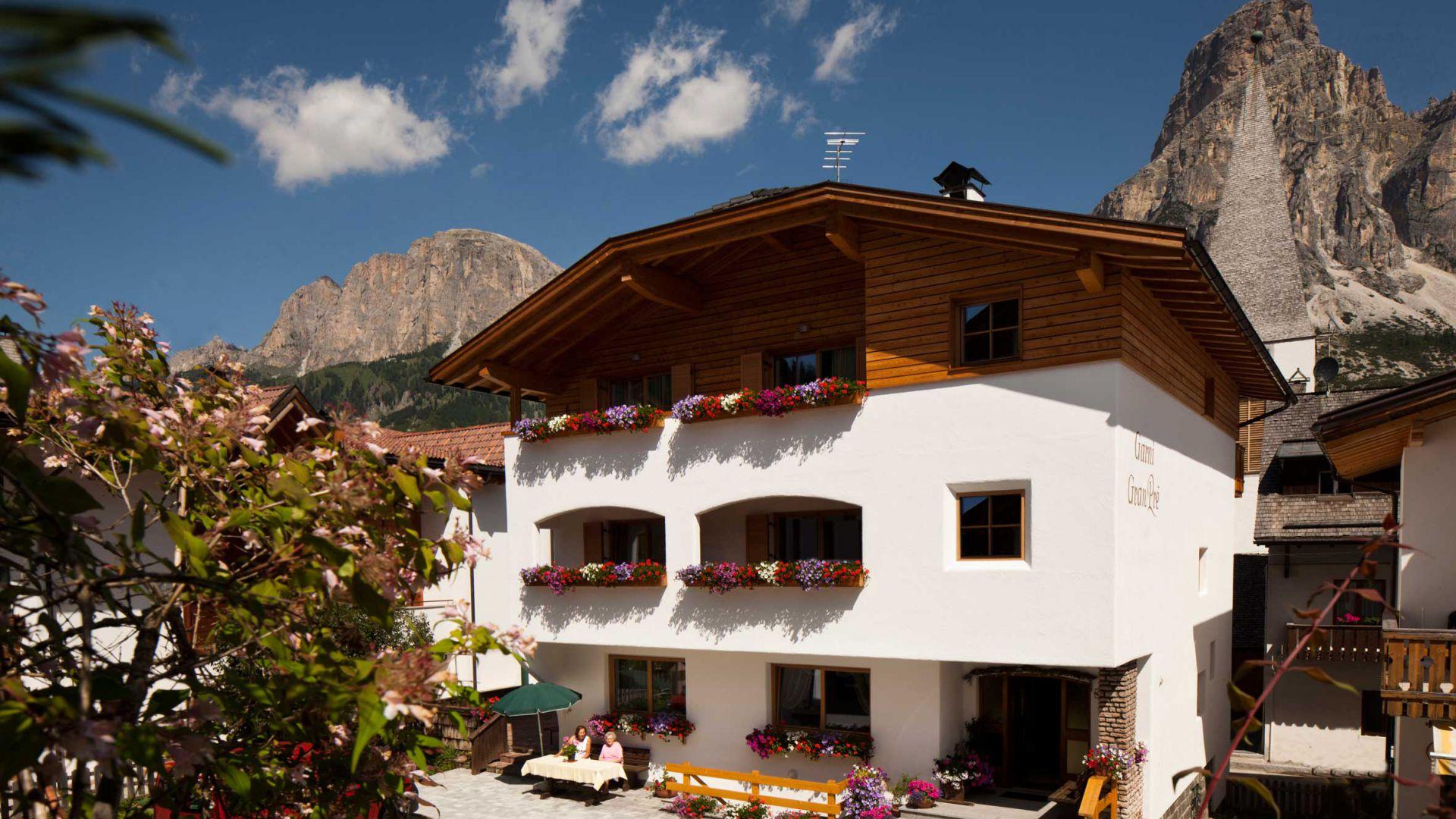 Ferienwohnungen Colfosco Alta Badia